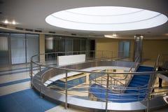 Het atrium van het bureau Stock Foto