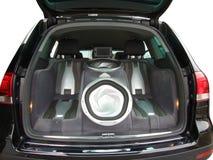Het audiosysteem van de auto Royalty-vrije Stock Foto's