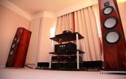 Het audiosysteem van het hallo-eind Royalty-vrije Stock Afbeelding