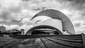 Het Auditorium in Santa Cruz de Tenerife stock foto