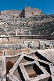 Het auditorium van het Miletustheater royalty-vrije stock fotografie