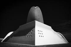 Het auditorium van Tenerife Stock Afbeeldingen