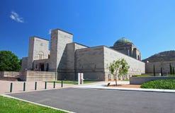 Het Australische Gedenkteken van de Oorlog in Canberra stock foto