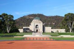 Het Australische Gedenkteken van de Oorlog in Canberra stock afbeelding