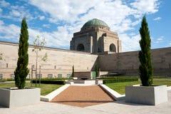 Het Australische HerdenkingsMuseum van de Oorlog. Royalty-vrije Stock Afbeelding