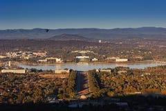 Het Australische Huis van het Parlement royalty-vrije stock afbeeldingen