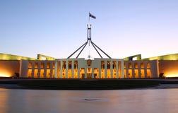 Het Australische Huis van het Parlement in Canberra Royalty-vrije Stock Foto's