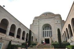 Het Australische Oorlogsgedenkteken is het nationale gedenkteken van Australië ` s aan de leden van zijn strijdkrachten en onders royalty-vrije stock foto's