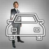 Het autohandel drijven Royalty-vrije Stock Afbeeldingen
