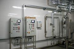 Het automatische systeem van de waterfiltratie Stock Afbeelding