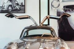 Het Automobiele Museum van Malaga in Spanje Stock Afbeelding