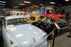 Het Automuseum van Miami bij de Dezer-Inzameling van auto's en verwante memorabilia Stock Fotografie