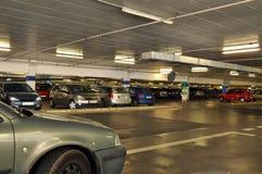 Het autoparkeren Stock Foto