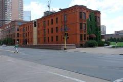 Het Ave van Marquette, Minneapolis royalty-vrije stock afbeeldingen