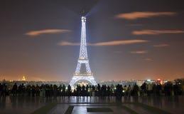 Het avondlicht toont Stock Fotografie
