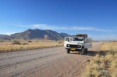 Het avontuur van de jeep royalty-vrije stock fotografie