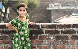 Het Aziatische Actieve Kind stelt Royalty-vrije Stock Afbeelding