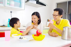 Het Aziatische gezonde eten Stock Foto's