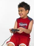 Het Aziatische jongen spelen Royalty-vrije Stock Foto