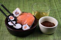 Het Aziatische koken Stock Foto's