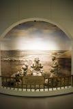Het Aziatische Museum van Chinees, van Peking, van vrouwen en van kinderen, Binnententoonstellingszaal Stock Afbeeldingen