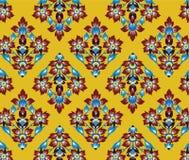Het Aziatische patroon van de traditiekunst vector illustratie