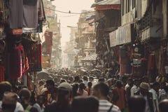 Het Aziatische straatleven Stock Foto's