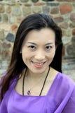Het Aziatische Toevallige portret van het Meisje Stock Afbeeldingen