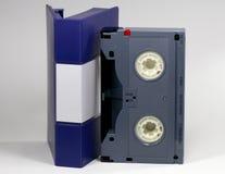Het bèta geïsoleerdeg geval van de Cassette van TV Stock Afbeeldingen