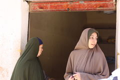 Egyptische vrouwen Royalty-vrije Stock Foto
