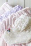 Het babymeisje kleedt Gift Royalty-vrije Stock Foto's