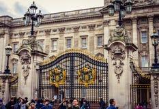 Het Backighgam-Paleis a moet aantrekkelijkheidsbestemming royalty-vrije stock foto