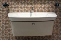 Het bad, binnenland, verfraait Stock Afbeelding