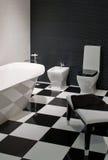 Het bad, binnenland, verfraait Royalty-vrije Stock Foto