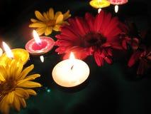Het bad van Aromatherapy Stock Afbeeldingen