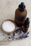 Het Bad van de lavendel stock afbeelding
