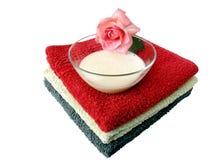 Het bad van het aroma Stock Foto