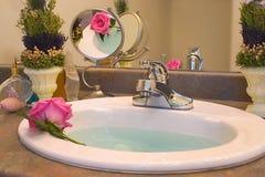 Het baden Schoonheid Stock Afbeelding