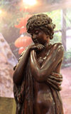 Het baden schoonheid het woodcarving Royalty-vrije Stock Foto's