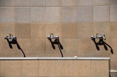 Het baden van de moskee communale gebiedslemessol Cyprus Stock Fotografie