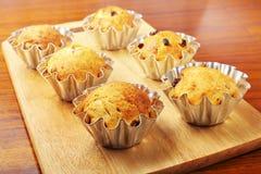 Het bakken cupcakes Royalty-vrije Stock Afbeelding