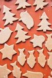 Het baksel van Kerstmis Royalty-vrije Stock Foto's