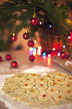Het baksel van Kerstmis Royalty-vrije Stock Afbeeldingen