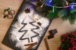 Het baksel van Kerstmis Royalty-vrije Stock Fotografie