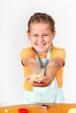 Het bakselkoekjes van het kind stock afbeeldingen