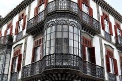 Het balkon Stock Afbeeldingen