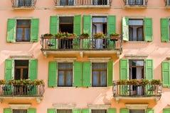 Het balkon royalty-vrije stock afbeeldingen