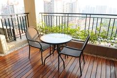 Het balkon Stock Foto's