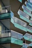 Het balkon herhaalt Royalty-vrije Stock Foto