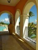 Het Balkon van de boog in DR. van de Toevlucht van het Heiligdom van Geheimen Royalty-vrije Stock Afbeeldingen